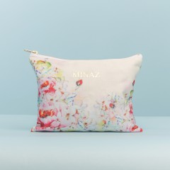 MP POUCH ROSE -  SOFT CREAM