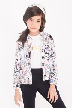 BOMBER KIDS - ANEMONE BLACK