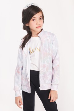 BOMBER KIDS - APPLE BLOSSOM GREY