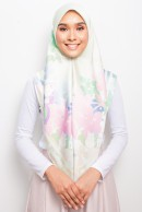 PP SQUARE SCARF -  APPLE BLOSSOM GREEN I