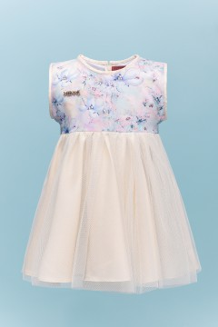 JASMINE BABY DRESS - MILKY CREAM