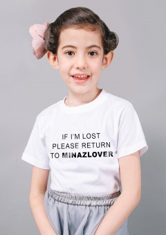 MINAZ T-SHIRT KIDS - LOST