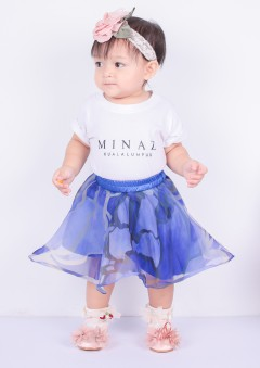 SOFEA  MUSCARY PRINTED  BABY - ROYAL BLUE