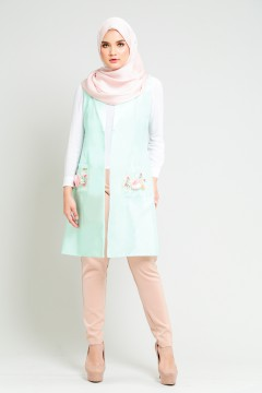 MYLANA JACKET - TIFFANY GREEN