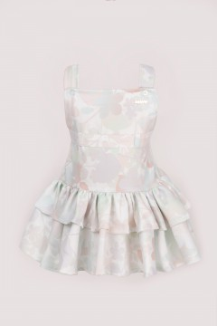 OVERALL DRESS BABY - GREY