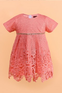 AYANAA BABY DRESS - ROSE PINK
