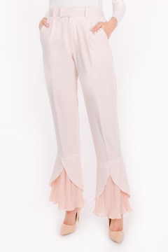 RHEA PLEATED - PEACH