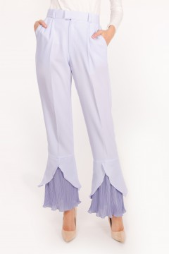 RHEA PLEATED - SERENITY BLUE