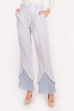 RHEA PLEATED - SOFT BLUE