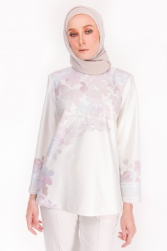 KYLA TOP - APPLE BLOSSOM GREY