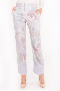 CASUAL SUIT (PANTS) - APPLE BLOSSOM GREY PETITE