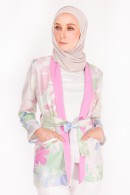 CASUAL SUIT (TOP) - APPLE BLOSSOM GREEN