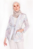 CASUAL SUIT (TOP) - APPLE BLOSSOM GREY