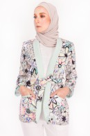 CASUAL SUIT (TOP) - ANEMONE BLACK