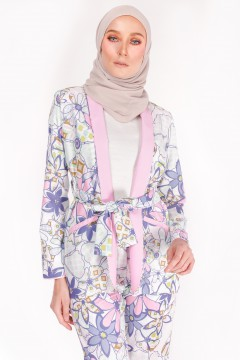 CASUAL SUIT (TOP) - ANEMONE MATTE BLUE