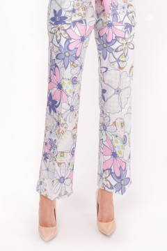 CASUAL SUIT (PANTS) - ANEMONE MATTE BLUE PETITE
