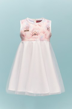 LILY BABY  DRESS - OFF WHITE