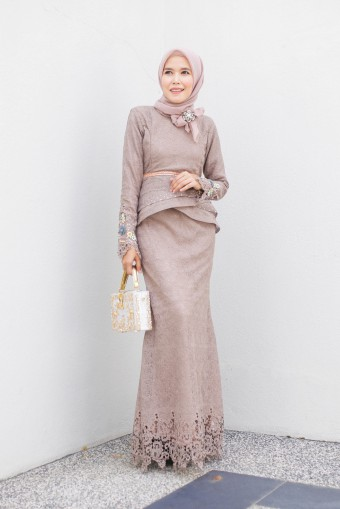 AYANAA DRESS - DARK CHAMPAGNE