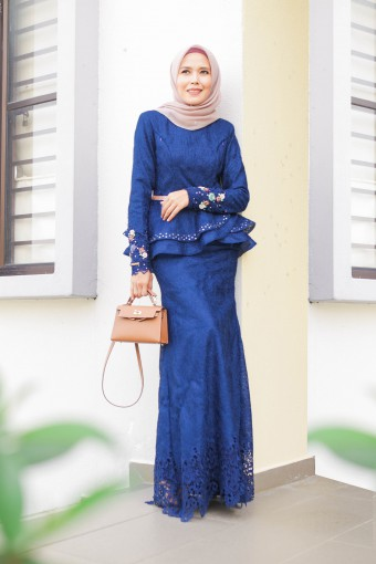 AYANAA DRESS - DARK BLUE