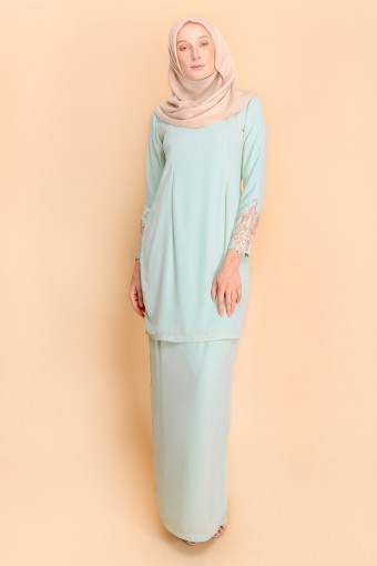 LACEY KURUNG BASIC - MINT GREEN