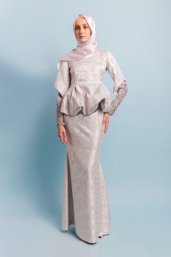 TERESSA BROCADE - GREY