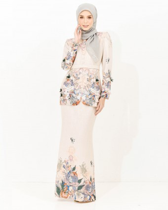 ALTHEA LUXE KEBAYA - CHAMPAGNE