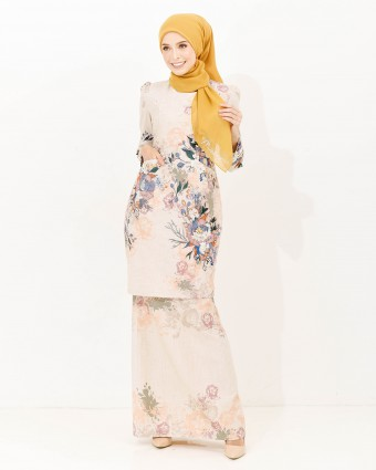 ALTHEA LUXE KURUNG - CHAMPAGNE