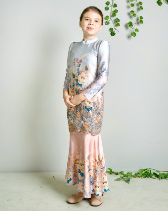 CANDY SERIES KIDS KURUNG - PEACH MELBA (XS-M)