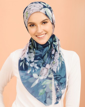 CHRYSANTHEMUM BAWAL - DARK BLUE