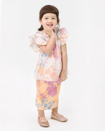 DELILAH BABY DRESS - CANDY YELLOW