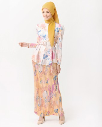 DELILAH MINI KURUNG - CANDY YELLOW