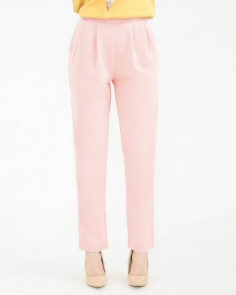TAPERED PANTS - DUSTY PINK