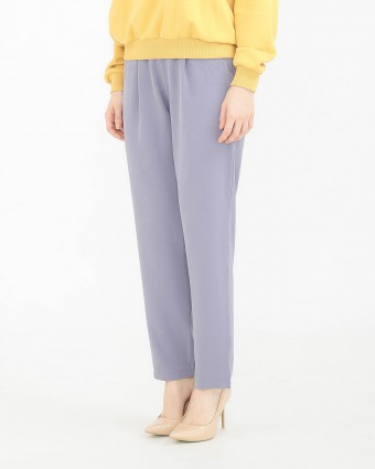 TAPERED PANTS - DUSTY PURPLE