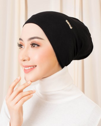 BASIC SNOW CAP INNER - BLACK