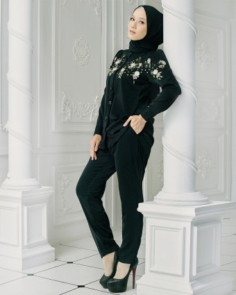 LUXE SUIT - BLACK