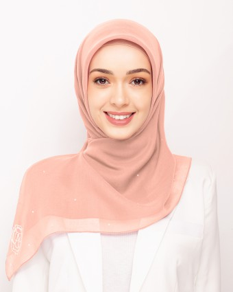 SECRET GARDEN PLAIN BAWAL - PEACH MELBA