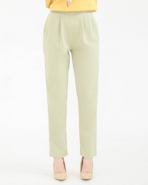 TAPERED PANTS - PISTACHIO