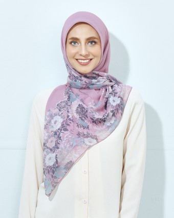 PREMIUM PRINTED BAWAL ROSE SERIES - DUSTY PINK