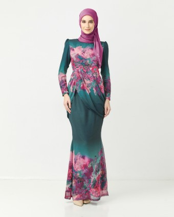 RUTH CLAY NADEERA KURUNG - EMERALD GREEN