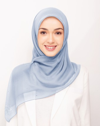 SECRET GARDEN PLAIN BAWAL - SKY BLUE