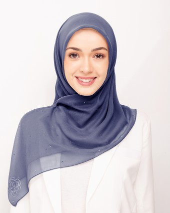 SECRET GARDEN PLAIN BAWAL - SPACE BLUE