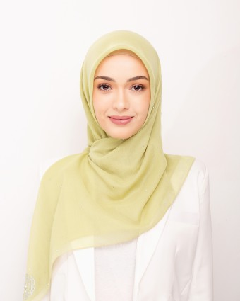 SECRET GARDEN PLAIN BAWAL - SUNNY LIME