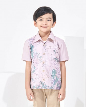SWEETPEA KIDS SHIRT - PEACH