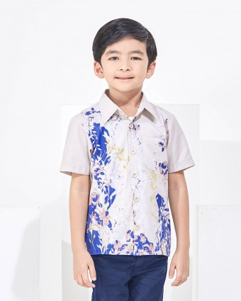 SWEETPEA KIDS SHIRT - SOFT YELLOW