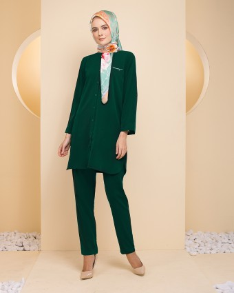 TANIA TUNIC - EMERALD GREEN