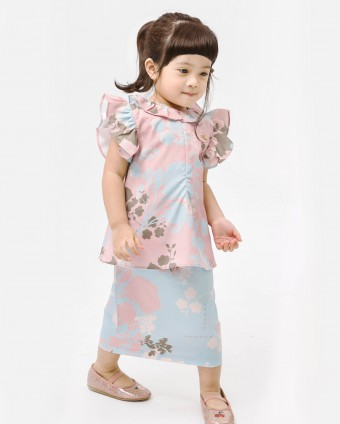 DELILAH BABY DRESS - BLUSH PINK