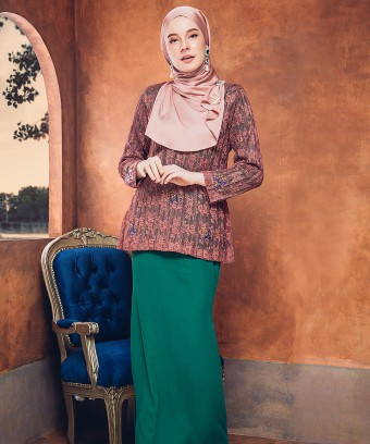 FATEEMA MINI KURUNG - ROSEY BROWN