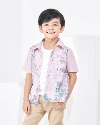 SWEETPEA KIDS SHIRT - PEACH (XL-3XL)