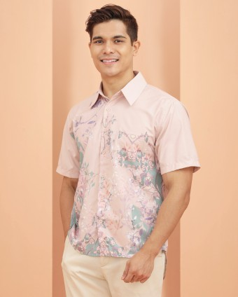 SWEETPEA MAN SHIRT - PEACH