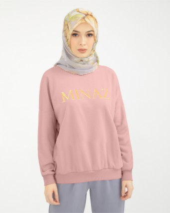 UNISEX SWEATSHIRT - DUSTY PINK